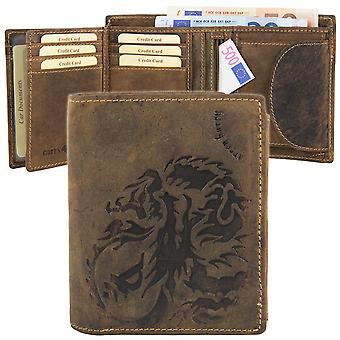 Greenburry vintage Dragon leather wallet D-1796A-25