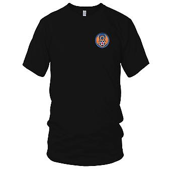 USAF Airforce - 8. Air Force skulder broderet Patch - Herre T-shirt