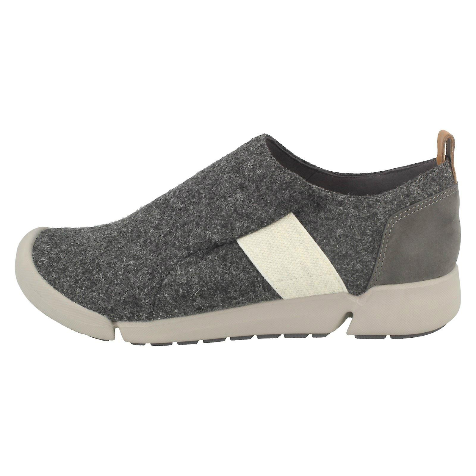 Heeled Shoes Tri Clarks Ladies Casual Lily xY4FqZwq