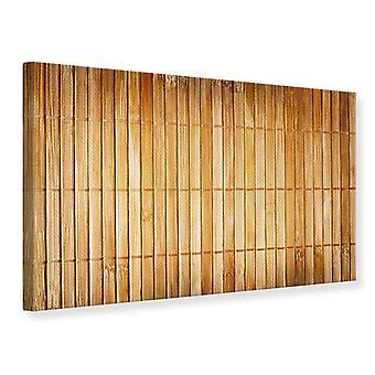 Lærred Print bambus Stokke
