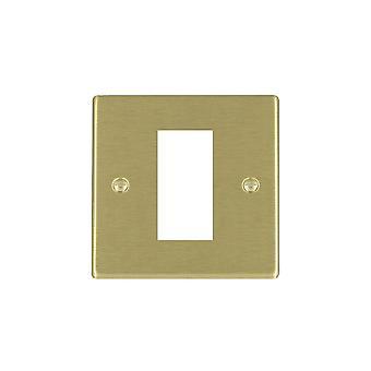 Hamilton Litestat Hartland Satin Brass 1 Euro Apert 25x50+Grid