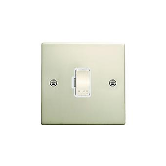 Hamilton Litestat Hartland Pearl Oyster 1g 13A Fuse Only PO/WH