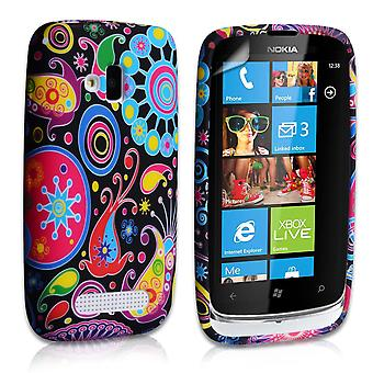 Yousave Accessories Nokia Lumia 610 Jellyfish Silicone Gel Case