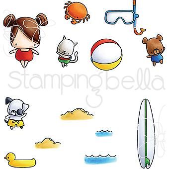 Stamping Bella Little Bits Cling Stamp Set-Snorkle EB510
