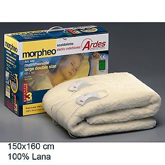 Heated beds electric 150 X 160 cm 100% wool. AR422