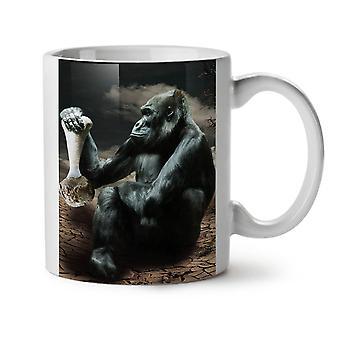 Monkey Desert Wild Animal NEW White Tea Coffee Ceramic Mug 11 oz | Wellcoda