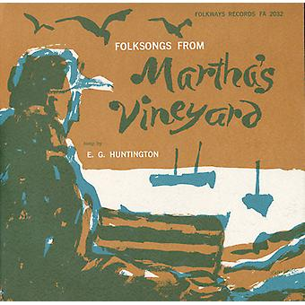 Gale Huntington - Folksongs From Martha's Vineyard [CD] USA import