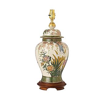 Lily Kutani wnętrza 1900 i irysy jednym światła ceramiczne duże T