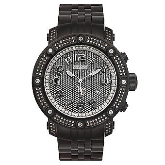 Joe Rodeo diamond men's watch - APOLLO black 1.7 ctw