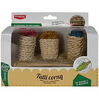 Tyrol 3 Delicacies With Support Tutti Corny (Small pets , Toys)