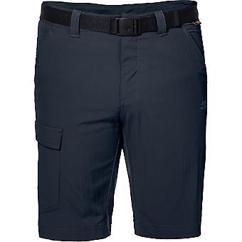 Jack Wolfskin Mens Hoggar Lightweight UV Protective Trekking Shorts