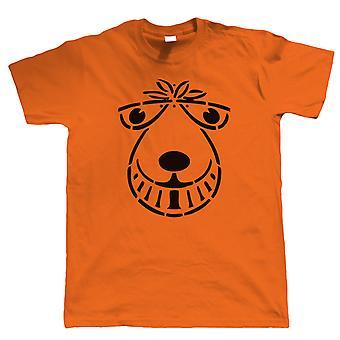 Space Hopper, Mens Funny Retro-1970er Jahre-T-Shirt