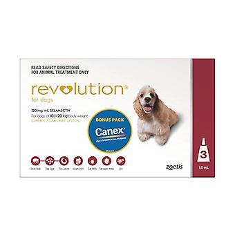 Revolution Red 3 Pack Plus Canex