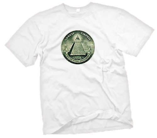 Womens T-shirt - Illuminati - Conspiracy