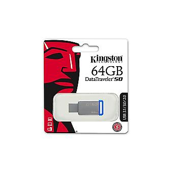 Kingston DataTraveler 50 clé USB 3.0 64 Go