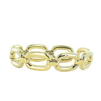 Pulsera acero Joop mujer oro forma de óvalo JPBR10642B180