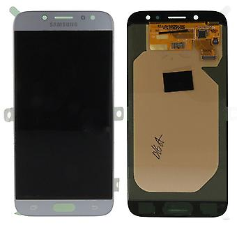Display LCD complete set GH97-20736 B silver for Samsung Galaxy J7 J730F 2017