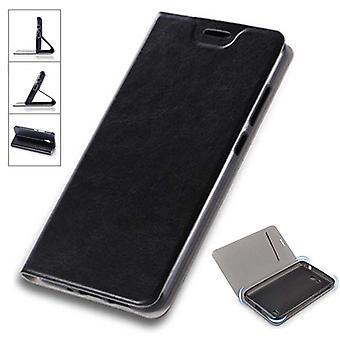 Флип / смарт крышку черный для Sony Xperia XA2 ультра защитный чехол мешок случае новый чехол