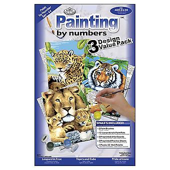 Junior Small Paint By Number Kit 8.75