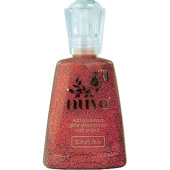 Nuvo Glitter Accents-Winter Cranberry