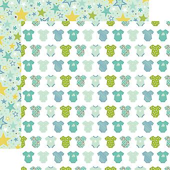 Sweet Baby Boy ' Double-Sided Cardstock 12