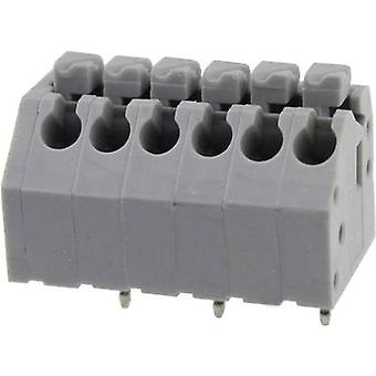 Degson DG250-3.5-02P-11-00AH Spring-loaded terminal 0.82 mm² Number of pins 2 Grey 1 pc(s)