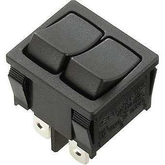 SCI Toggle switch R13-33PAA-02 250 V AC 6 A 2 x Off/On latch 1 pc(s)