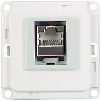Skirting board ISDN module 71682 White