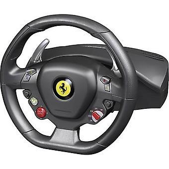 Thrustmaster Ferrari 458 Italia Racing Wheel Steering wheel USB PC, Xbox 360 Black incl. foot pedals