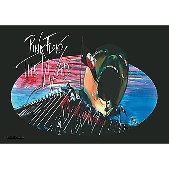 Pink Floyd Hammers / Scream Large Fabric Poster/ Flag 1100Mm X 750Mm