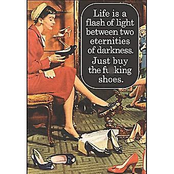 Жизнь это вспышка света купить обувь Холодильник магнит