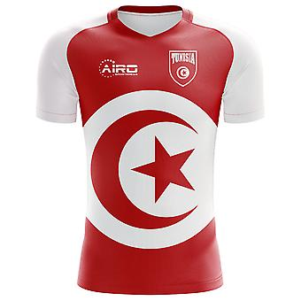 2018-2019 Tunesien Fahne Konzept Fußballtrikot (Kids)