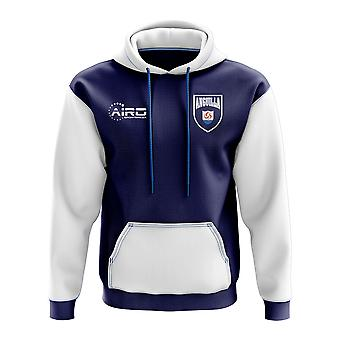 Anguilla Concept land voetbal Hoody (Navy)