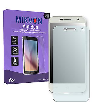 Alcatel One Touch Idol 2 Mini Screen Protector - Mikvon AntiSun (Retail Package with accessories)