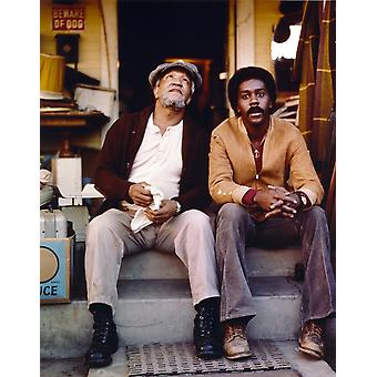 Sanford & Son Siting on Couch Together Photo Print