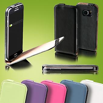 Til Apple iPhone XR 6.1 tommer flip case Deluxe pose ærme case cover sort