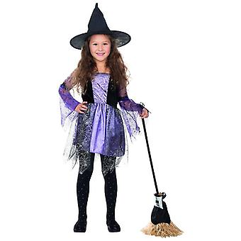 Cara the Spider Web Halloween kids witch costume girl witch
