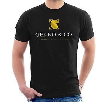 Gekko And Co Wall Street Men's T-Shirt