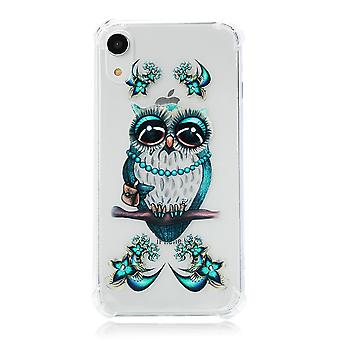 iPhone XR TPU Skal - Owl on the Branch