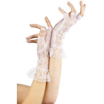Smiffy's Fingerless Lace Gloves