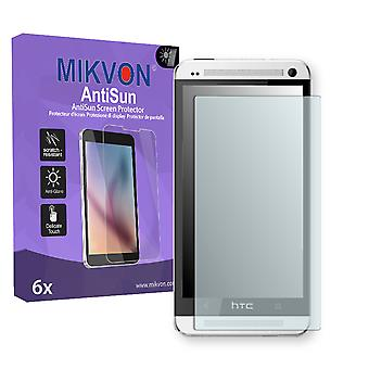 HTC One LTE Screen Protector - Mikvon AntiSun (Retail Package with accessories)