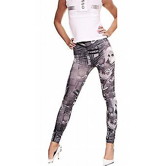 Waooh - Mode - Legging Motif Paris