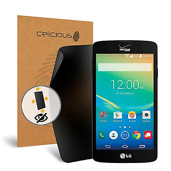 Celicious Privacy Plus 4-Way Anti-Spy Filter Screen Protector Film Compatible with LG Transpyre