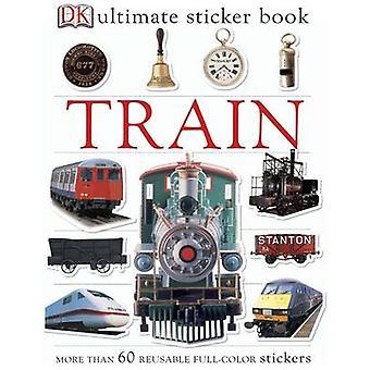 Livre de collants ultime du train par DK - livre 9781405314510