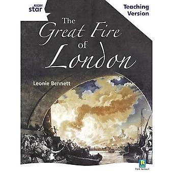 The Great Fire of London: White Level Non-fiction (Rigby Star Guided)