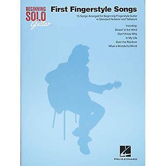 Början sologitarr: Första Fingerstyle låtar
