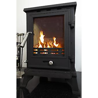 CASTMASTER Cast Iron Penrith Log Wood Burning Burner Multifuel Stove 5Kw