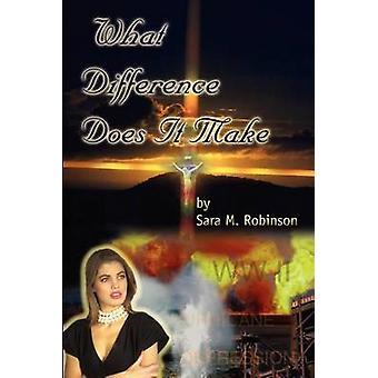 Que diferença faz por Robinson & Sara M.