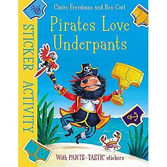 Pirates Love Underpants - Sticker Activity by Pirates Love Underpants -