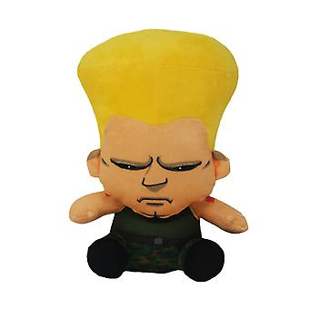 Street Fighter Guile Sitting Pose Plush